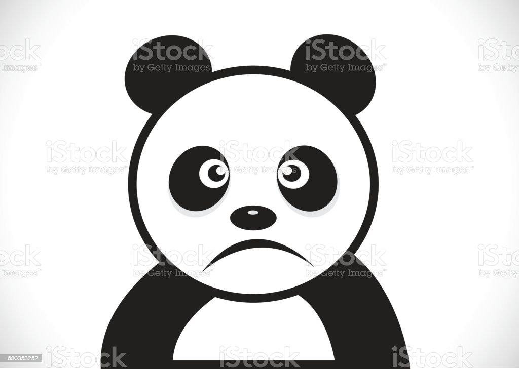 Panda cartoon character royalty-free panda cartoon character stock vector art & more images of anger