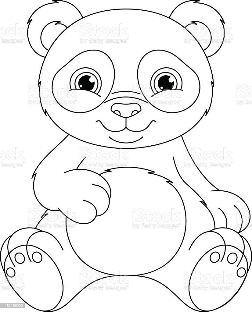 List of Synonyms and Antonyms of the Word: oso panda para colorear