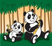 Great illustration of a pair of pandas. Perfect for use as a nature illustration. EPS and JPEG files included. Be sure to view my other illustrations, thanks!