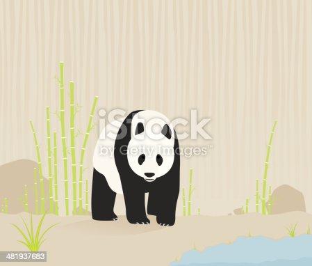istock Panda in nature 481937683