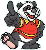 This Panda is a a very clean vector image ready for your design or.