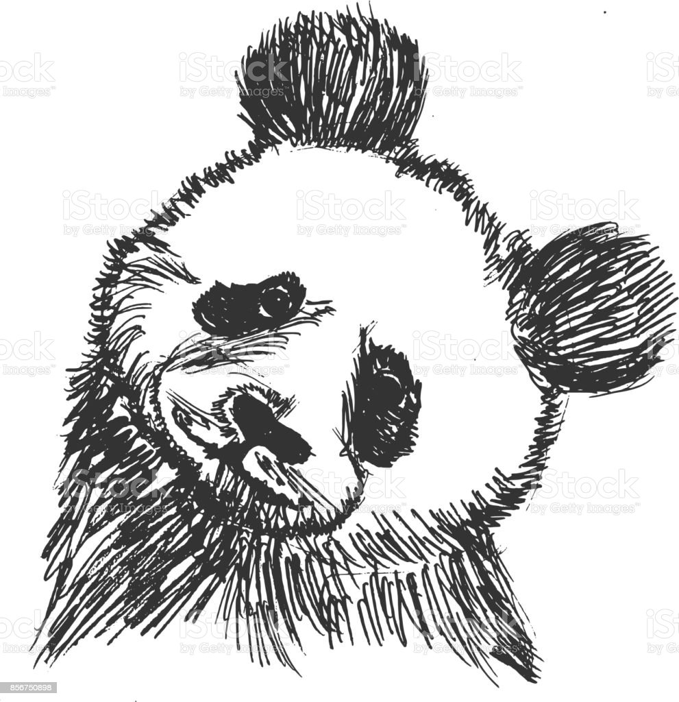 Panda Symbol Of China Stock Vector Art More Images Of Animal