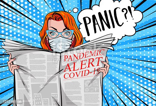 "istock ""Pandemic alert COVID-19"". 1212181198"