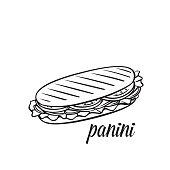 panini or sandwich