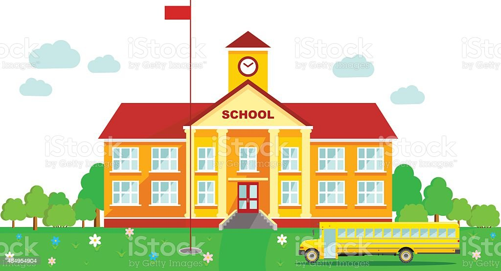 royalty free one room schoolhouse clip art vector images rh istockphoto com school house clip art images school house clip art pictures