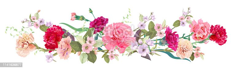 Flor Manzano Ilustración Del 520097224istock Flor De