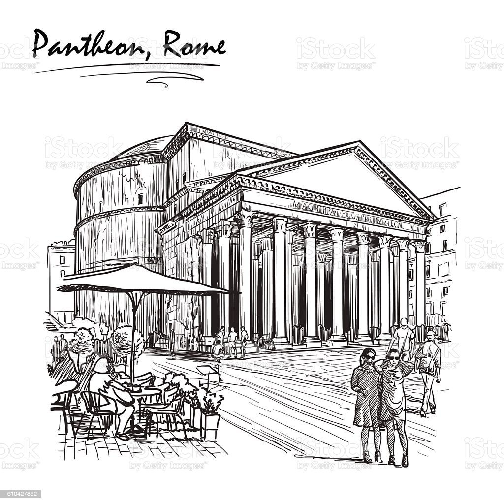 an analysis of the roman pantheon Michelangelo described the famous pantheon in rome perfectly after seeing it  for the  but the dome of the pantheon is what the renaissance masters  did  you know for example that chemical analysis had shown that the.