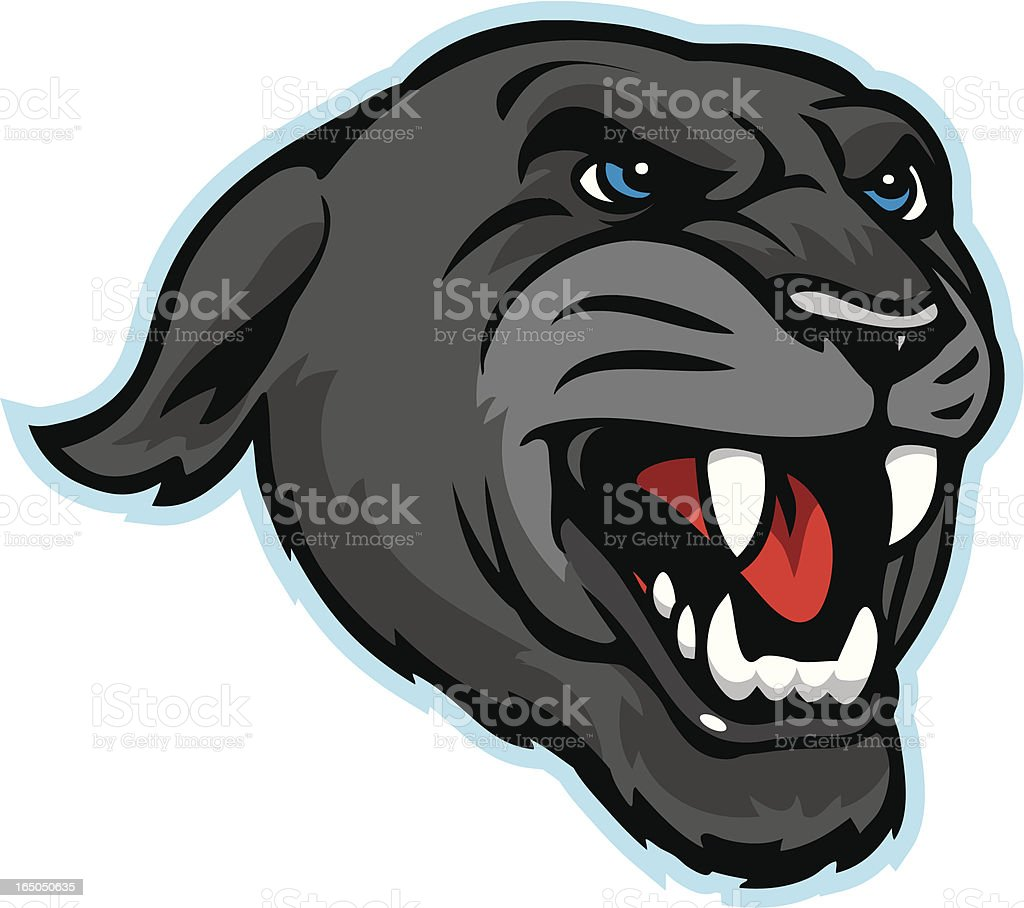 panther growling royalty-free panther growling stock vector art & more images of anger