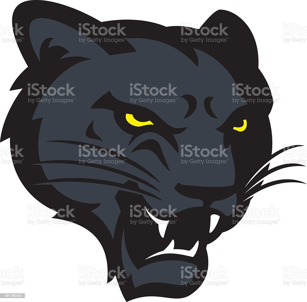 royalty free panther clip art vector images illustrations istock rh istockphoto com  panther head clipart