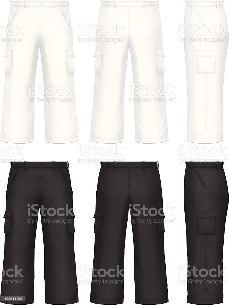 Pants with pocket royalty-free pants with pocket stock vector art & more images of black color