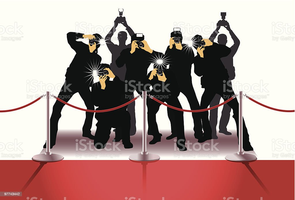 royalty free paparazzi clip art  vector images red carpet theme clip art red carpet clip art image