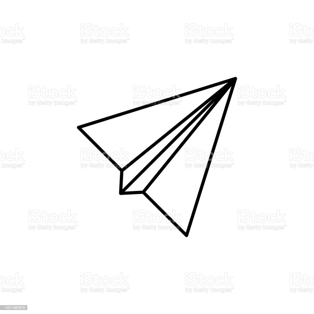 Paper Airplane Icon Element Of Simple Icon For Websites Web Design