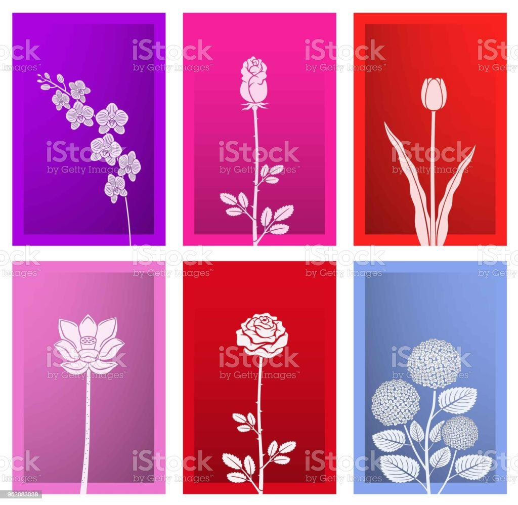 Paper Art Flower With Frame Stock Vector Art & More Images