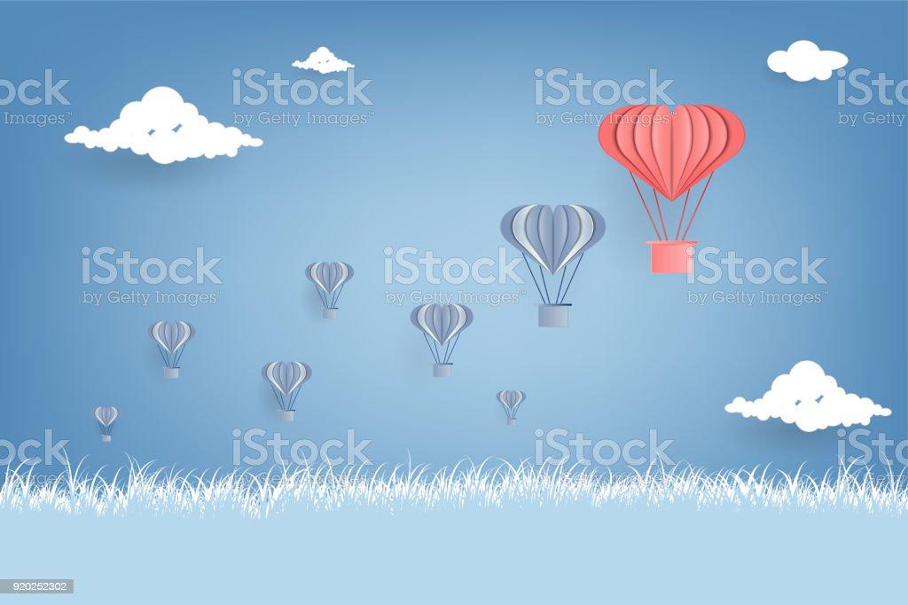Origami Hot Air Balloon - DIY paper craft   Paper Hot Air Balloon ...   682x1024