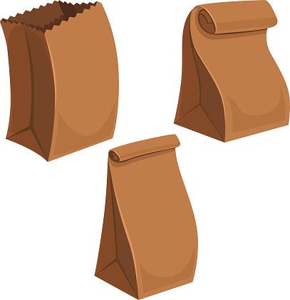 Paper Bags Cartoon
