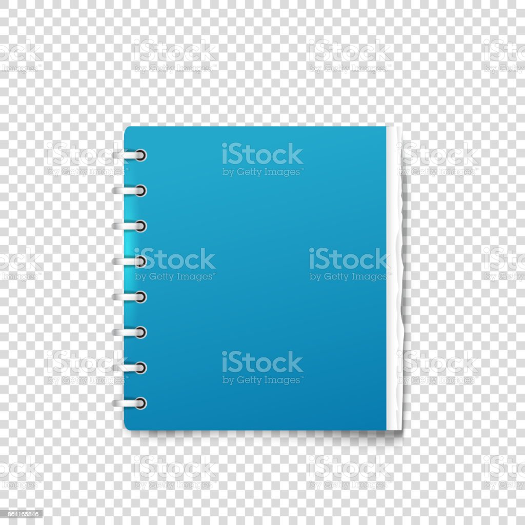 Paper binder on transparent background vector mockup royalty-free paper binder on transparent background vector mockup stock vector art & more images of adhesive note