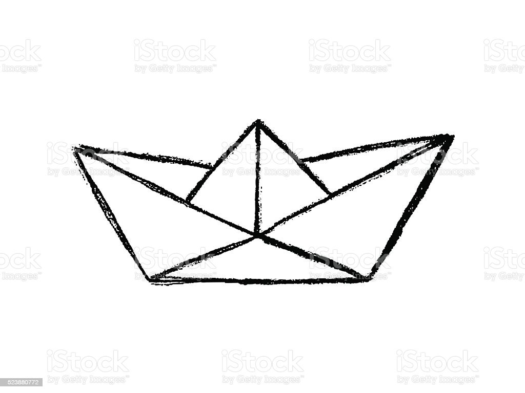 Paper boat sketch stock vector art more images of abstract paper boat sketch royalty free paper boat sketch stock vector art amp more images jeuxipadfo Image collections