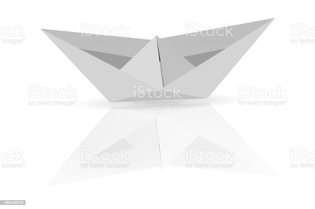 Paper Boat royalty-free paper boat stock vector art & more images of abstract