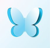Paper butterfly. Many similarities to the author's profile