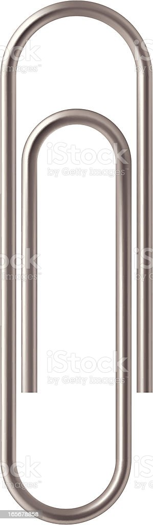paper clip royalty-free stock vector art