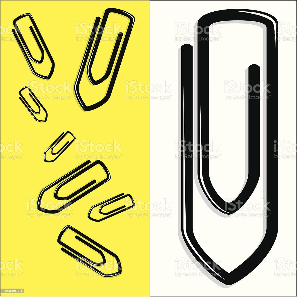 Paper Clips royalty-free paper clips stock vector art & more images of binder clip