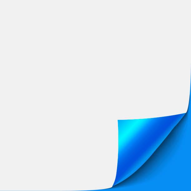 paper corner peel. blank sheet of folded sticky paper note. vector illustration of sticker peel element for advertising message on transparent background. - aluminum foil roll stock illustrations, clip art, cartoons, & icons