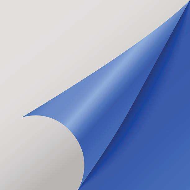paper corners. vector illustration - aluminum foil roll stock illustrations, clip art, cartoons, & icons
