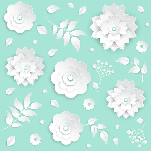 Royalty free background of the wedding stage decoration ideas clip paper cut flowers set of modern vector colorful objects vector art illustration junglespirit Gallery