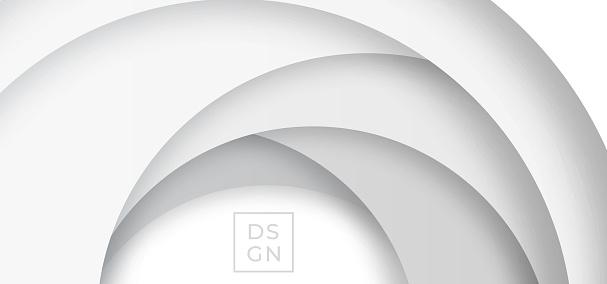 Paper cut loop design