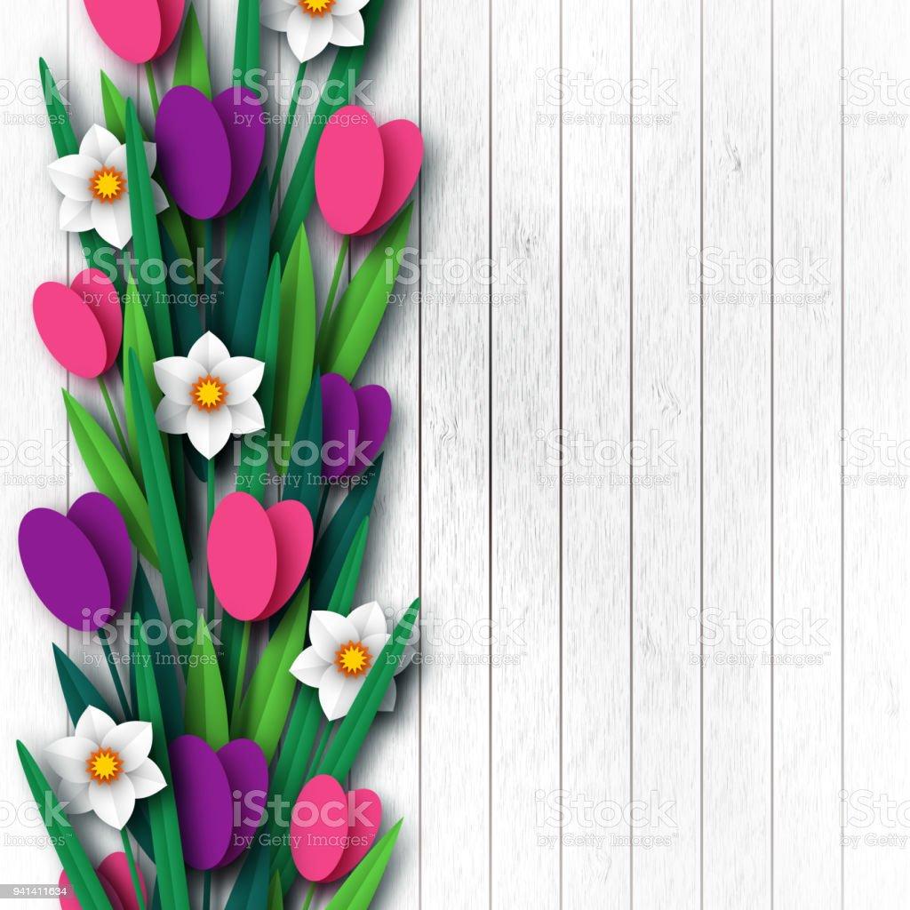 tulpen vorlage zum ausschneiden  ausmalbilder und vorlagen