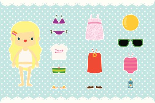 Paper Doll - Summer Stuff