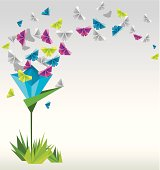 Paper  flower.