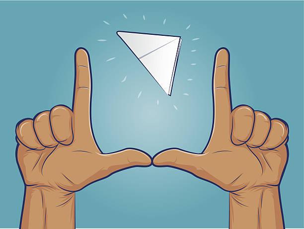 Paper Football vector art illustration