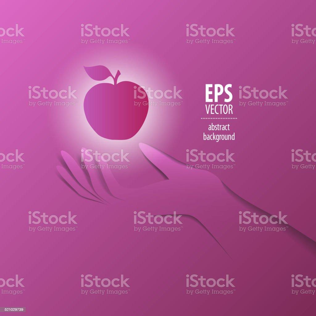 Papel ilustración de mano - ilustración de arte vectorial