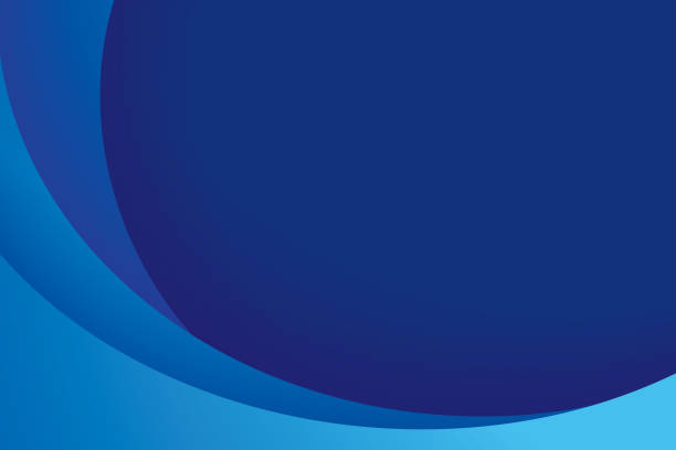 Paper layer circle blue abstract background. Curves and lines use for banner, cover, poster, wallpaper, design with space for text. Paper layer circle blue abstract background. Curves and lines use for banner, cover, poster, wallpaper, design with space for text. curve stock illustrations