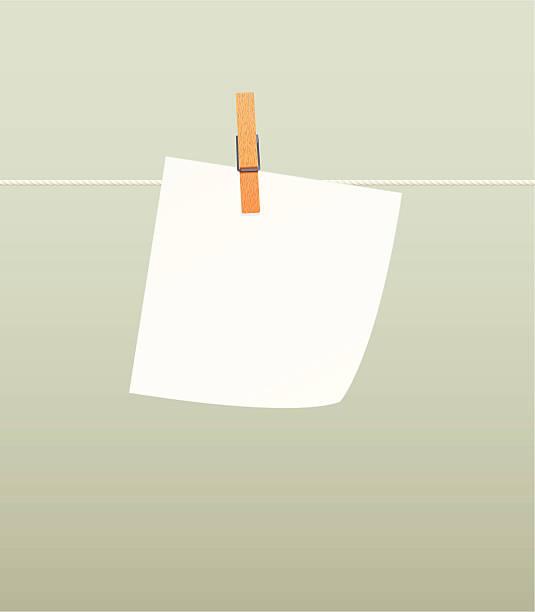 Paper on line vector art illustration