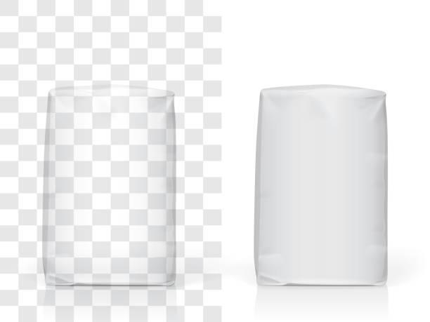 papier oder plastiktüte - mehl stock-grafiken, -clipart, -cartoons und -symbole