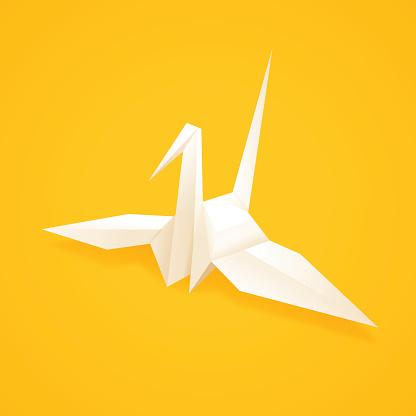 Paper Origami Crane