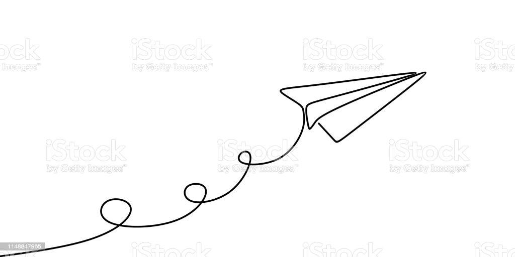 Paper Plane Clip Art
