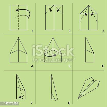 Paper Folding EPS10 File Format