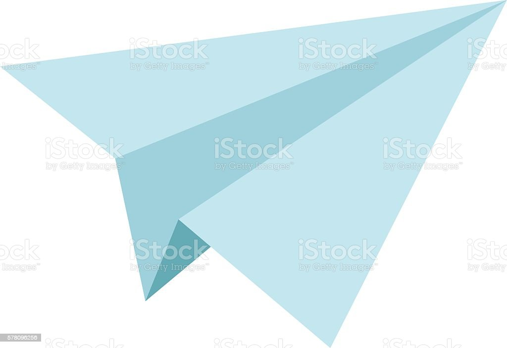 royalty free paper airplane clip art vector images illustrations rh istockphoto com paper airplane heart clipart paper aeroplane clipart