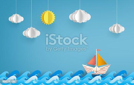 istock paper sailing boat 995282092