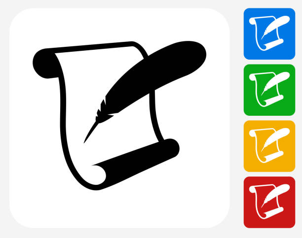 Best Quill Pen Illustrations, Royalty-Free Vector Graphics ...