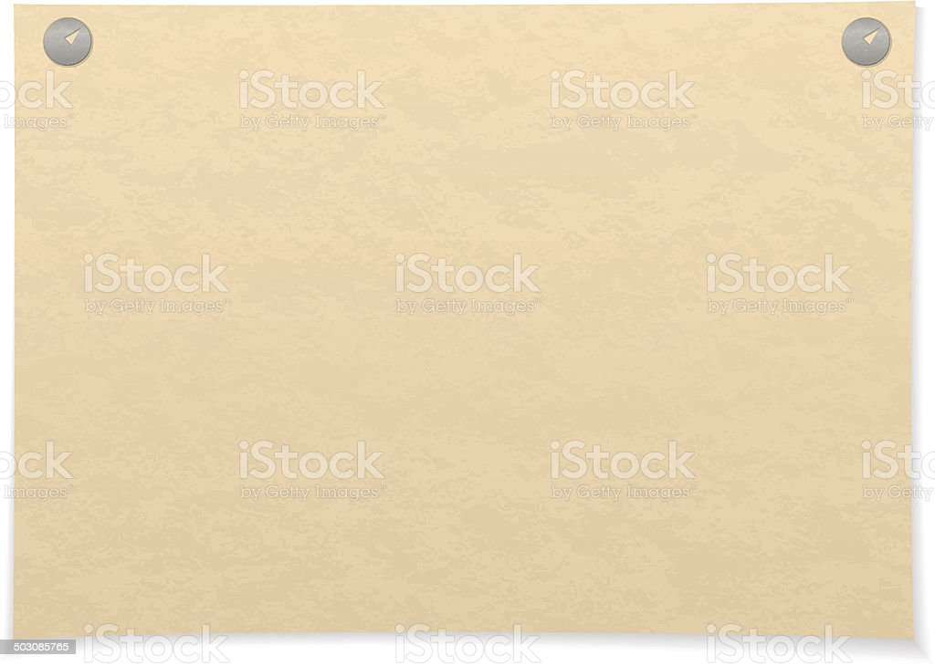 Paper sheet royalty-free stock vector art