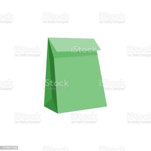 Paper Shopping Bags - Stockowe grafiki wektorowe i więcej obrazów Artykuły spożywcze