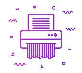 istock Paper Shredder Line Style Icon Design 1156139194