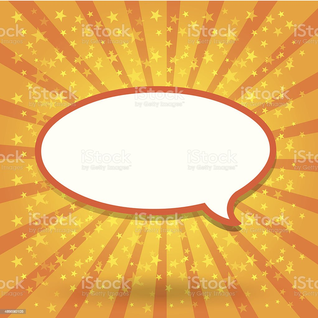 Paper Speech Bubble, Vector Illustration royalty-free paper speech bubble vector illustration stock vector art & more images of backgrounds