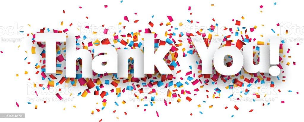 紙コンフェティサインインしていただきありがとうございました - 2015年のベクターアート素材や画像を多数ご用意 ...