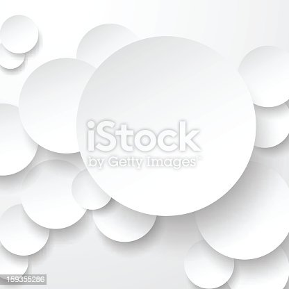 Vector illustration paper round notes. Eps10. Different blending modes were used.