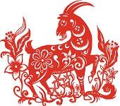 Papercut Goat